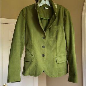 J. Crew green blazer